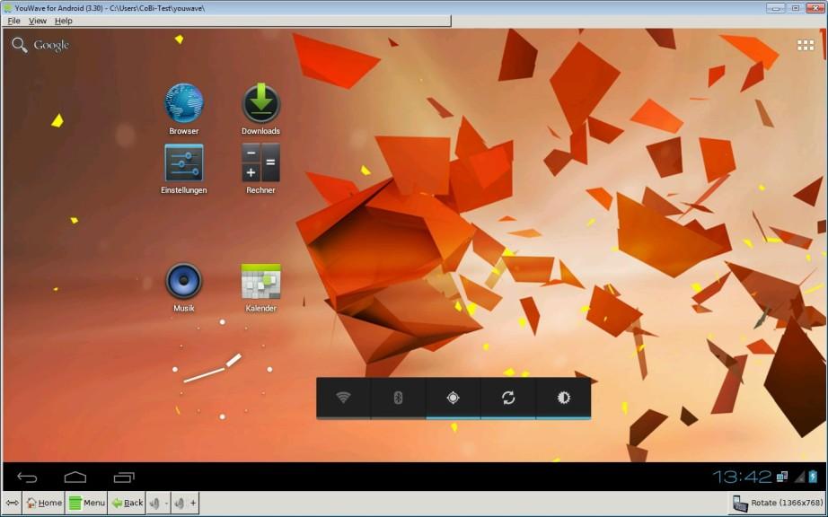 Screenshot 1 - YouWave für Android