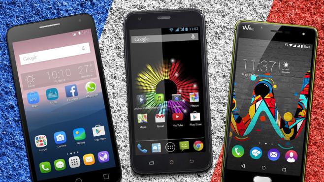 EM-Smartphones©Alcatel, Archos, Wiko, robsonphoto – Fotolia.com