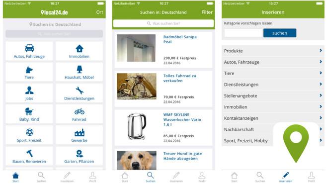 Local24 Kleinanzeigen & Flohmarkt ©Scout24 AG