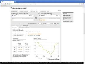 Oanda-Währungsrechner