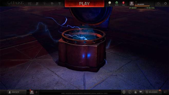 Quake Champions: Beute machen©COMPUTER BILD SPIELE