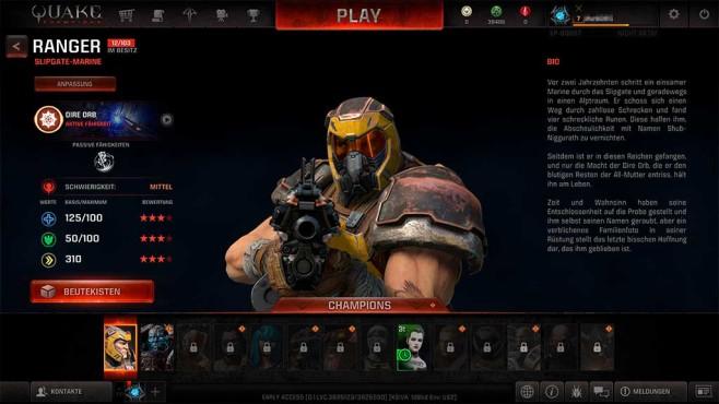 Quake Champions: Heldenhaftes Aufgebot©COMPUTER BILD SPIELE