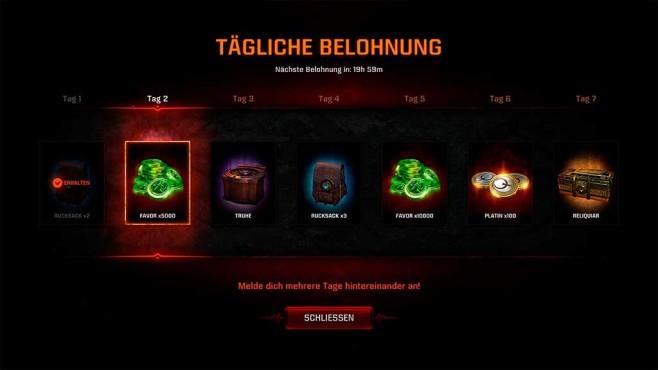 Quake Champions: Tägliche Belohnungen©COMPUTER BILD SPIELE