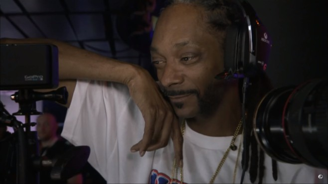 Snoop spielt Battlefield 1 © Youtube, EA