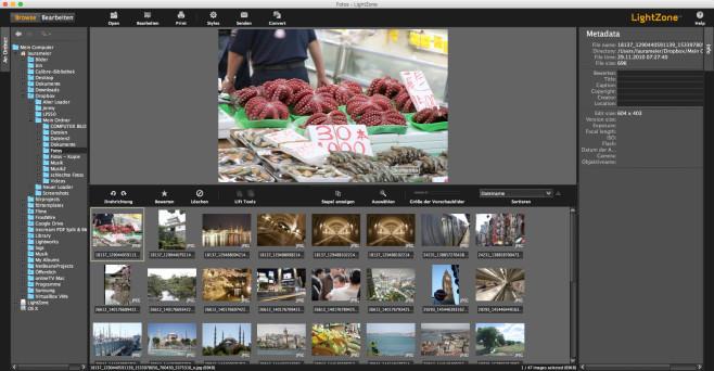 Screenshot 1 - LightZone (Mac)