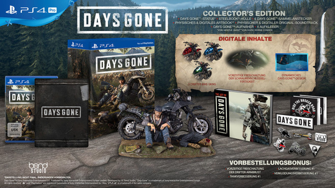 Days Gone CE © Sony