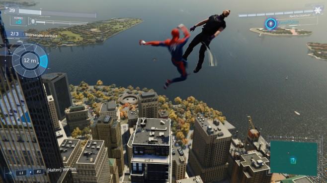 Spider-Man in der Vorschau: Der Spinner!©Sony