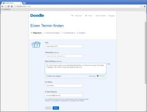 Doodle: Termine vereinbaren & Online-Umfragen erstellen