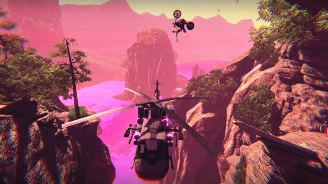 Trials of the Blood Dragon©Ubisoft