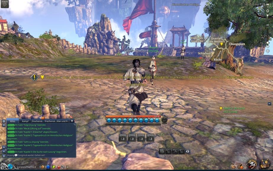 Screenshot 1 - Blade & Soul
