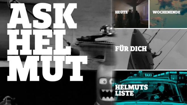 Ask Helmut verrät Ihnen die besten Veranstaltungen der Stadt – bisher leider nur in Berlin und Leipzig.©Screenshot: AskHelmut.com