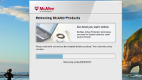 McAfee Consumer Products Removal Tool © COMPUTER BILD