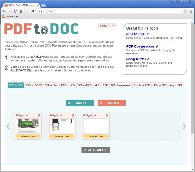 Umwandlung Pdf In Word Freeware