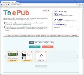 PDF to ePub (eBook Converter)