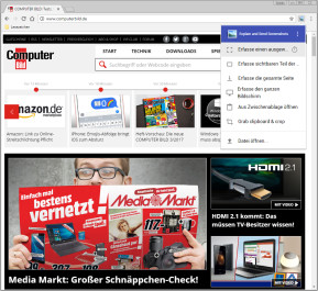 Explain & Send Screenshots für Chrome