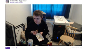 Social Eating bei Twitch©Twitch