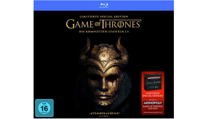 Game of Thrones Staffel 1-5 Collector's Edition (Digipack + Fotobuch + Bonusdisc + Game of Thrones Monopoly) (exklusiv bei Amazon.de) [Blu-ray] [Limited Edition] © Amazon