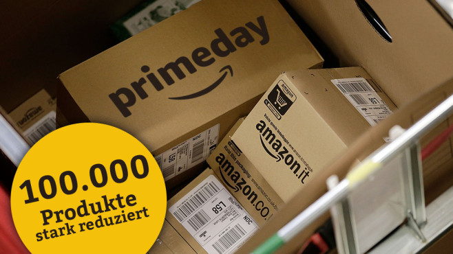 Amazon Prime Day © Amazon, Matthew Lloyd / getty images