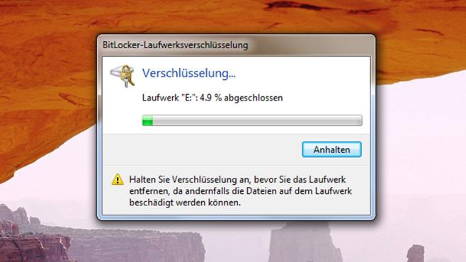 USB-Stick mit Passwort schützen ©COMPUTER BILD