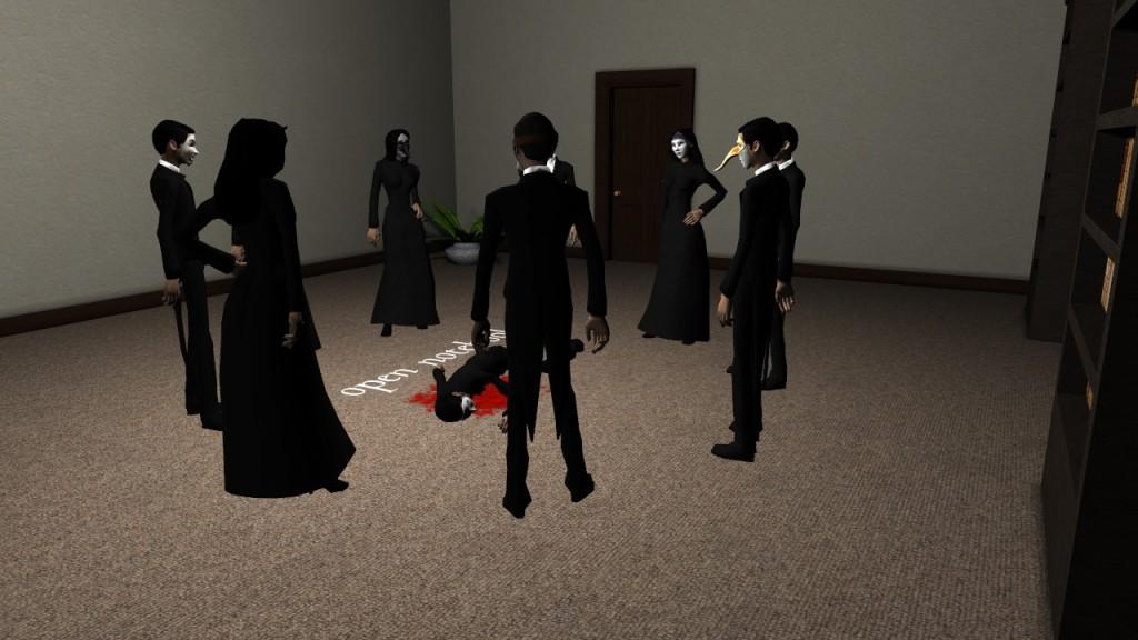 Screenshot 1 - Murder at Masquerade Manor