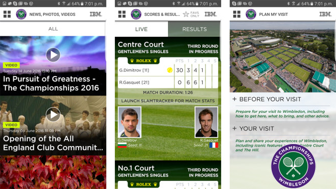 The Championships, Wimbledon ©The All England Lawn Tennis Club