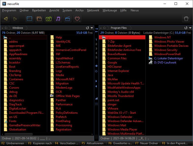 Screenshot 1 - NexusFile