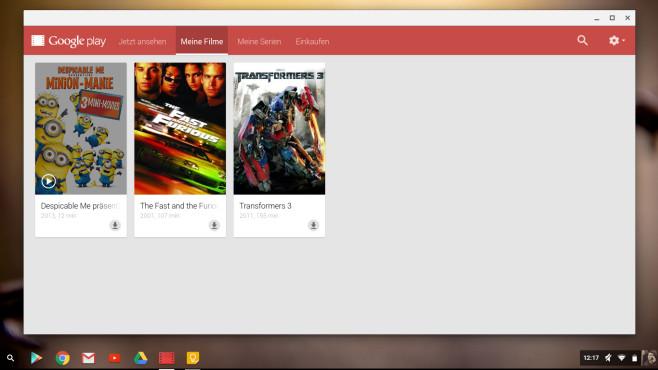Chrome OS – Screenshot©COMPUTER BILD