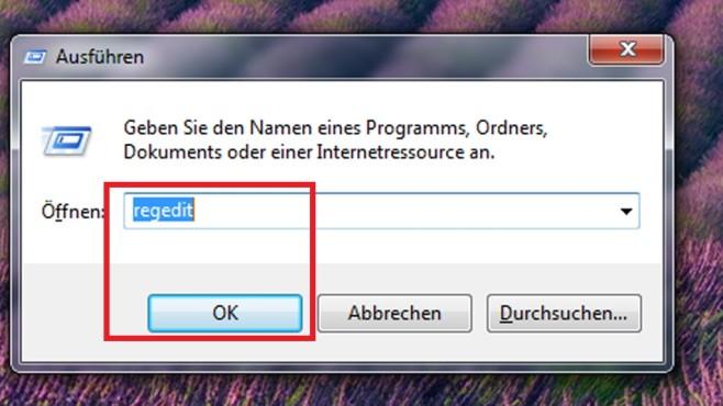 Registrierungs-Editor laden©COMPUTER BILD