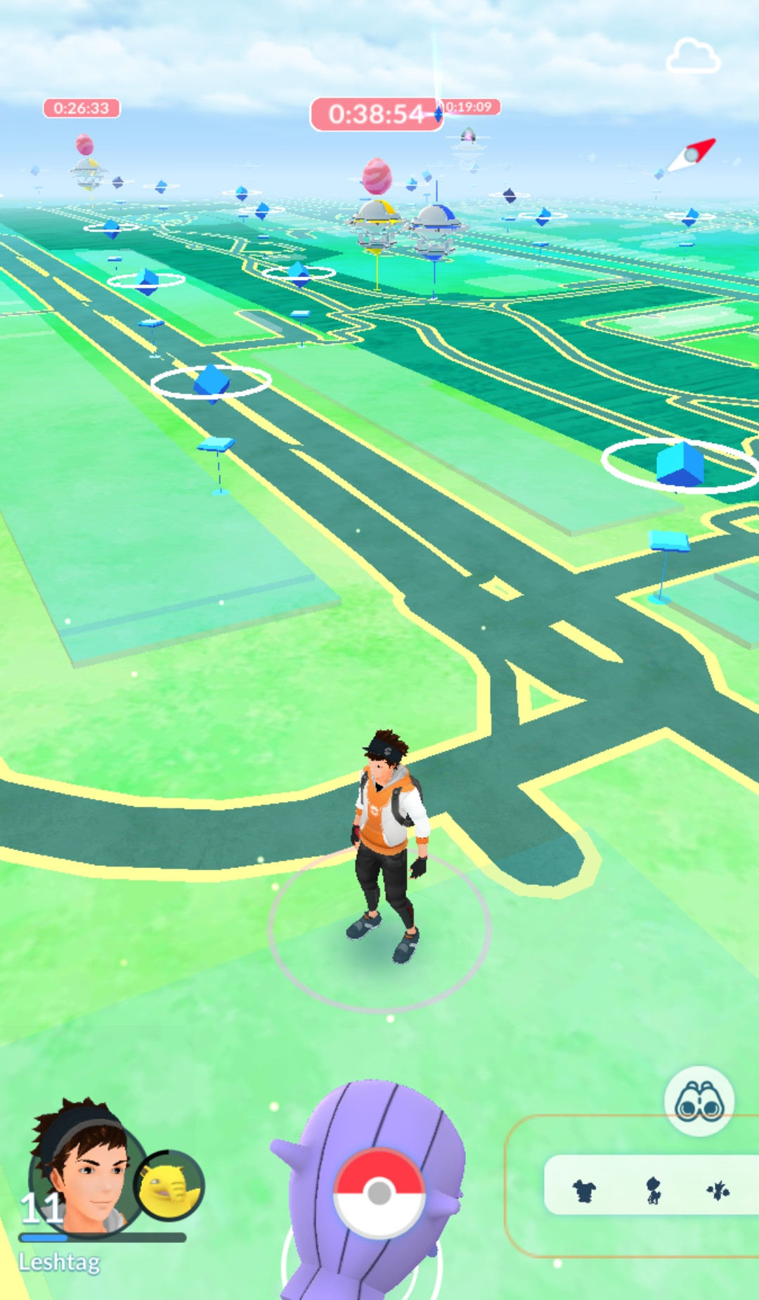 Screenshot 1 - Pokémon GO (APK)