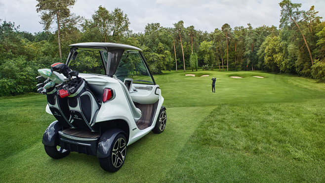 Mercedes-Benz Style Edition Garia Golf Car © Daimler