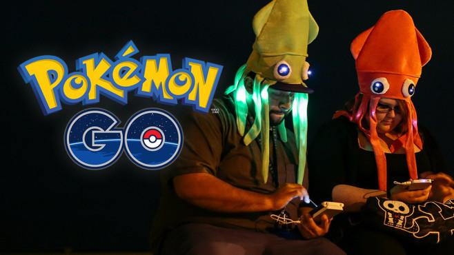 Pokémon GO macht süchtig©Pokémon, Brian Gove / getty images