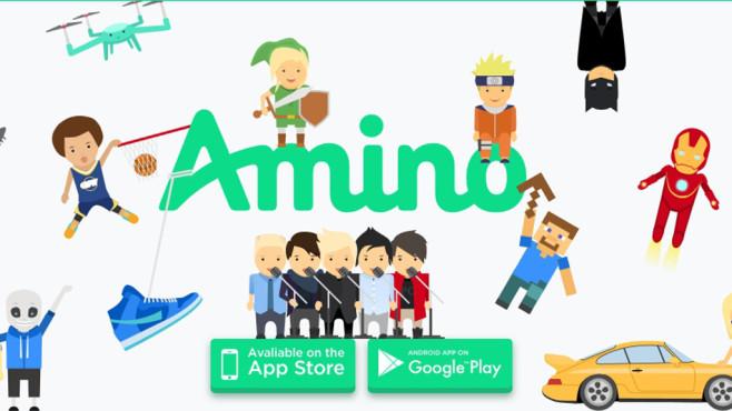 Amino Apps©Screenshot: http://www.aminoapps.com/