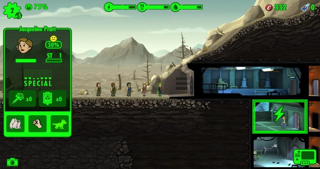 Screenshot 1 - Fallout Shelter für PC