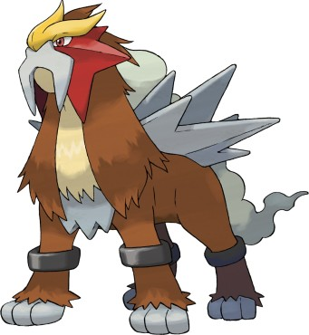 Legendäre Pokémon: Entei © The Pokémon Company