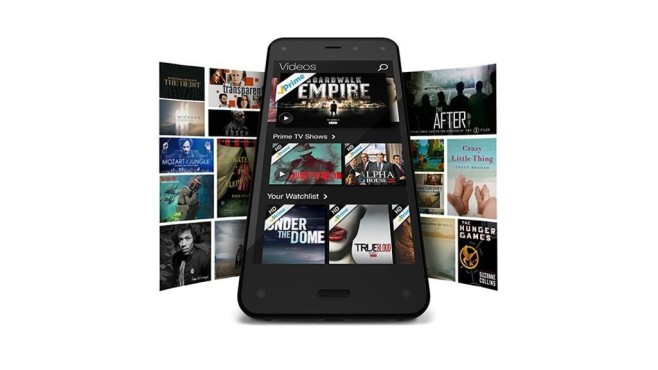 Amazon prime Fire Phone © Amazon