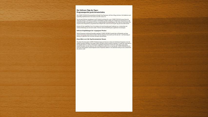 Screenshot 1 - FocusWriter (Mac)