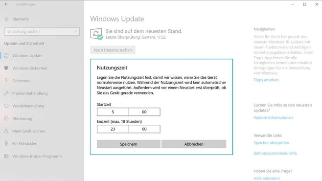 Windows 10: Windows-Updates in den Griff bekommen © COMPUTER BILD SPIELE, Microsoft