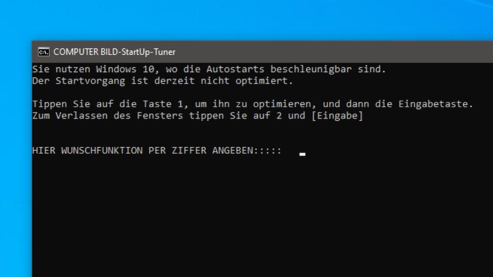 Windows 8/10: Autostart-Programme ohne Verzögerung laden