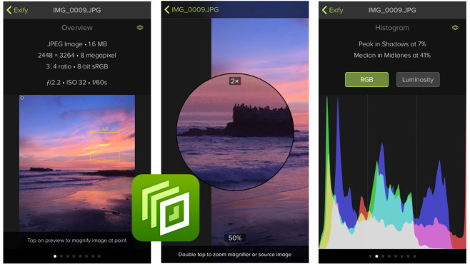 Exify – Tools for Photos © The Iconfactory