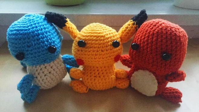 Pokémon So Häkeln Sie Pikachu Co Computer Bild Spiele