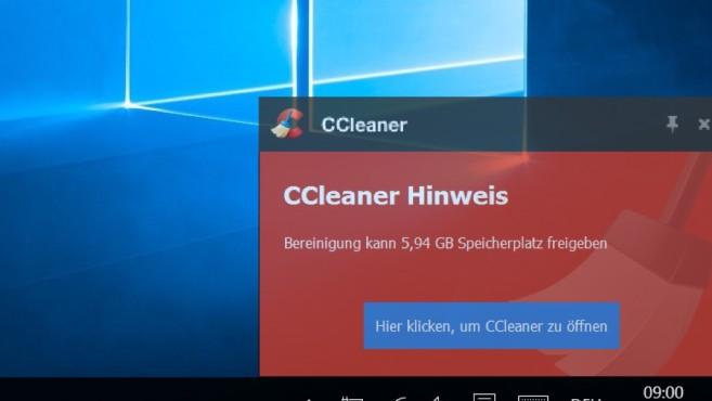 Mit CCleaner Speicherplatz sparen ©COMPUTER BILD