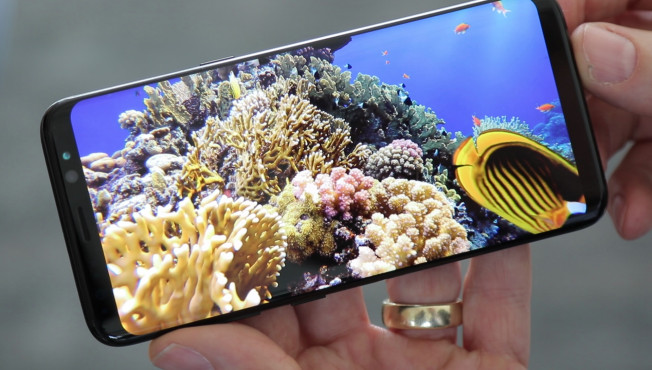 Samsung Galaxy S8: Display © COMPUTER BILD