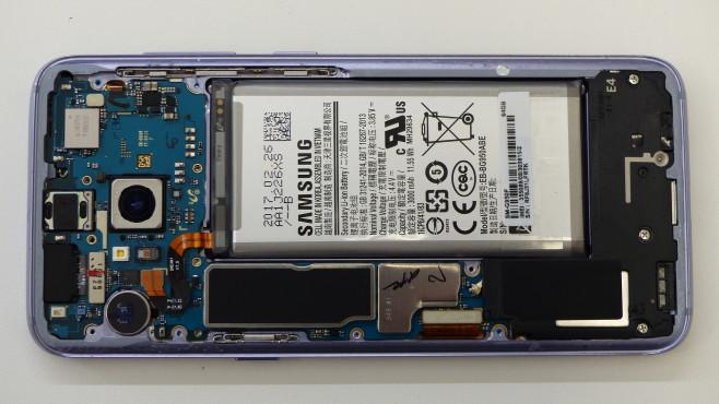 Samsung Galaxy S8: Innenleben©COMPUTER BILD