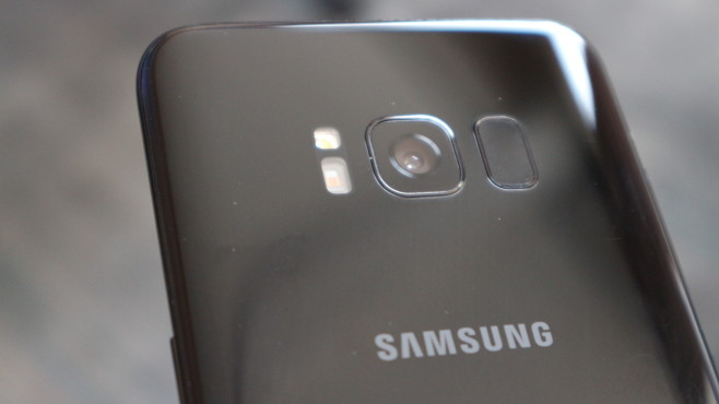 Samsung Galaxy S8: Kameralinse©COMPUTER BILD