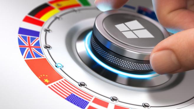Windows 7/8/10: Systemsprache kostenlos ändern Starr ist Windows keineswegs, was die Systemsprache anbelangt: Sie ist änderbar. Abhängig von der OS-Edition variiert der Aufwand.©Fotolia--Olivier Le Moal-Languages Concept