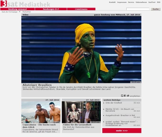 Screenshot 1 - 3sat-Mediathek