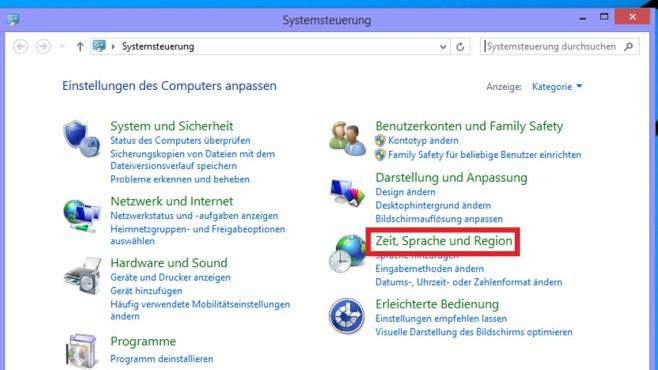 Windows 8.1/10: Systemsteuerung bemühen (2)©COMPUTER BILD