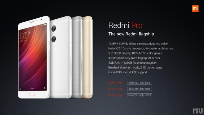Smartphone Redmi Pro©Xiaomi