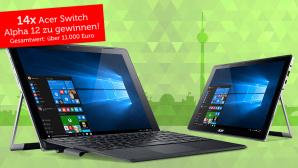 Gewinnspiel: Gewinnen Sie eines von 14 Acer Switch Alpha 12©I_Mak – Fotolia.com, Acer