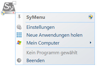 Screenshot 1 - SyMenu
